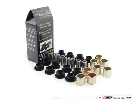 ES#2651556 - PFR5-109BX8 - Race Polyurethane Rear Control Arm Bushings Kit - Improves handling and control  upgrade to a more engaging driving experience - Powerflex Black Series - MINI