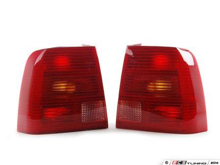 ES#2765867 - 3B5945095LKT1 - Sedan Tail Light - Pair - Quality replacement tail lights - Depo - Volkswagen