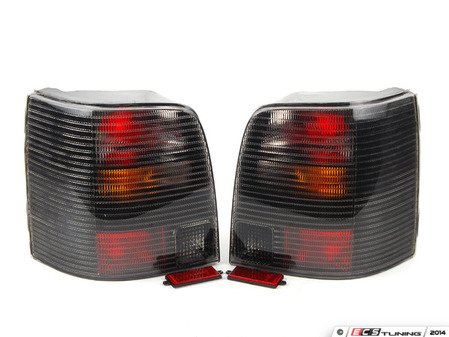 ES#2784573 - 9548917E - Smoked Wagon Tail Light - Pair - Plug and play aftermarket tail lights - EagleEyes - Volkswagen