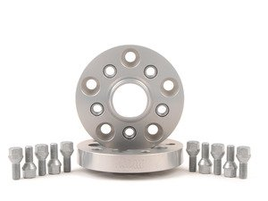 ES#2576087 - 50725725 - TRAK+ Wheel Adapter - 25mm Thickness - Adapts Audi/VW wheels (5x100 bolt pattern, 57.1mm center bore) to your BMW (5x120 bolt pattern, 72.6mm center bore) - H&R - BMW