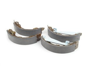 ES#2130268 - 1H0698520X - Rear Brake Shoe Set - Contains only the rear brake shoes - SBS - Volkswagen