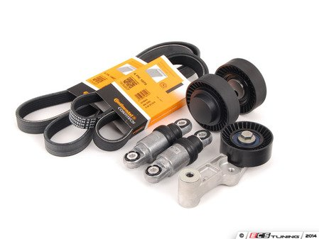 ES#2777259 - 11287837898KT3 - Accessory Belt Kit - Everything you need to service your belt drive system - Assembled By ECS - BMW