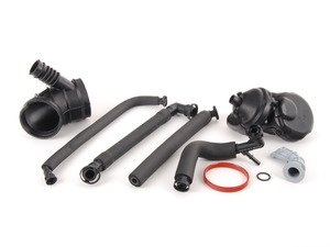 ES#2550206 - E46M54OSC2KT - Cold Climate Oil Separator Kit - Level 2 - A truly complete kit for oil separator system maintenance - Assembled By ECS - BMW