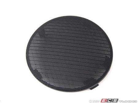 ES#101930 - 51418213911 - Speaker Cover - Left Front - Schwarz/Black. Protects the front door speaker - Genuine BMW - BMW