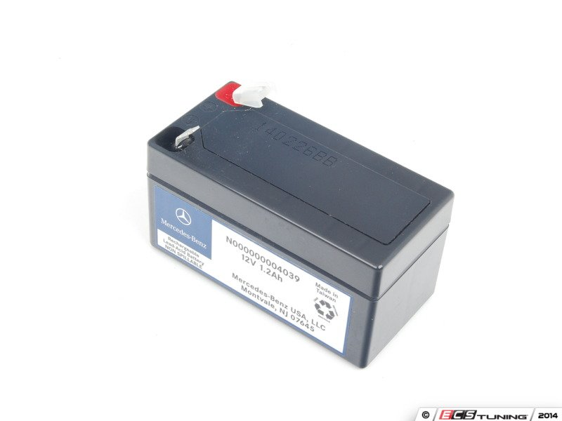 genuine mercedes benz 000000004039 battery