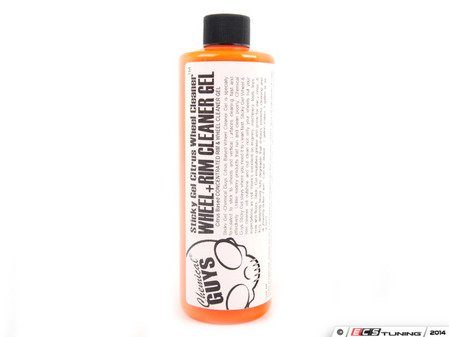 ES#2619369 - CLD108C16 - Chemical Guys Sticky Gel Citrus Based Wheel & Rim Cleaner - 16 Oz - Safely and easily lifts dirt and contaminants without any scrubbing - Chemical Guys - Audi BMW Volkswagen Mercedes Benz MINI Porsche