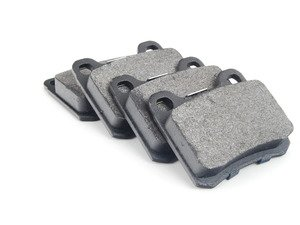 ES#2598570 - 0004209820 - Rear Brake Pad Set - For Vehicles With Two (2) Retaining Pin Rear Brake Pads - Bosch - Mercedes Benz