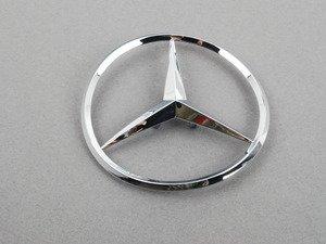 ES#1745187 - 2087580058 - Mercedes-Benz Emblem - Located on trunk lid - Genuine Mercedes Benz - Mercedes Benz