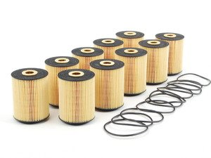 ES#241030 - 021115562A - Oil Filter Kit - Pack Of 10 - Stock up and save! - Hengst - Audi Volkswagen