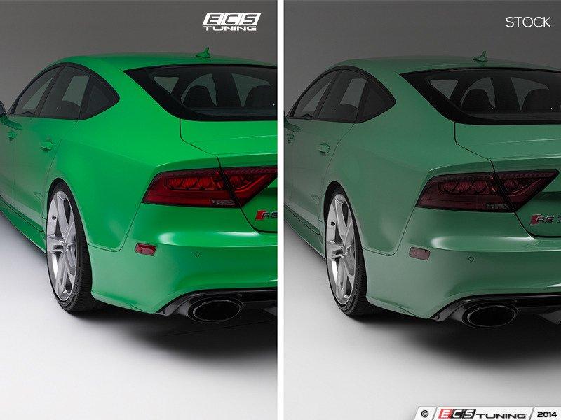 Ecs News Audi Rs7 Ecs Wheel Spacer Flush Fit Kits
