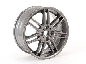 """ES#65058 - 36116778426 - R99 MINI Double Spoke Alloy Wheel 17"""" (4x100) Gray Metallic - Priced Each - 17 x 7J ET:48 - Genuine MINI - MINI"""