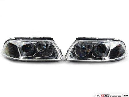 ES#2800119 - B55DJEUROKT - European Halogen Headlight Set - Restore lighting quality & performance of your B5.5 Passat - DJ Auto - Volkswagen