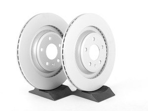ES#2747911 - 4H0615601HKT2 - Rear Brake Rotors - Pair (330x22) - Featuring a protective Platinum coating - Meyle - Audi