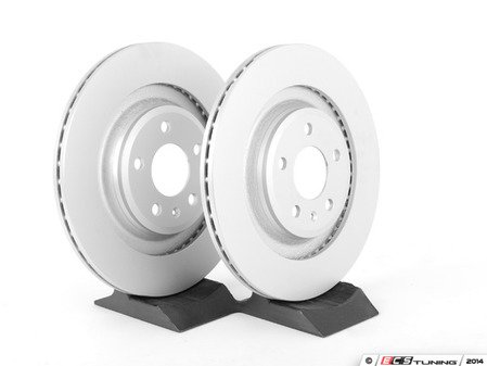 ES#2747911 - 4H0615601HKT2 - Rear Brake Rotors - Pair (330x22) - Featuring a protective Platinum coating - Meyle - Audi