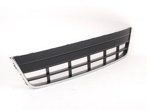 ES#2561378 - 5N0853671B82V - European R-Line Center Grille  - Sporty grille for R front bumper - Genuine European Volkswagen Audi -