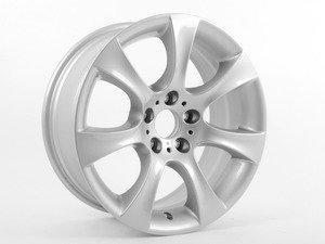 "ES#65013 - 36116775645 - 18"" Star Spoke Style 124 Wheel - Priced Each - 18x8 ET20 - Genuine BMW - BMW"