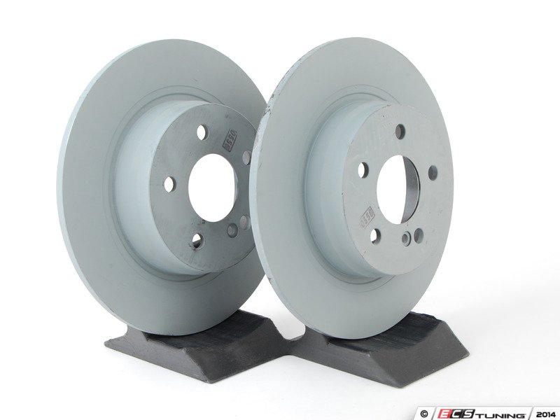 Genuine Mercedes Benz 2044231512kt1 Rear Brake Rotors