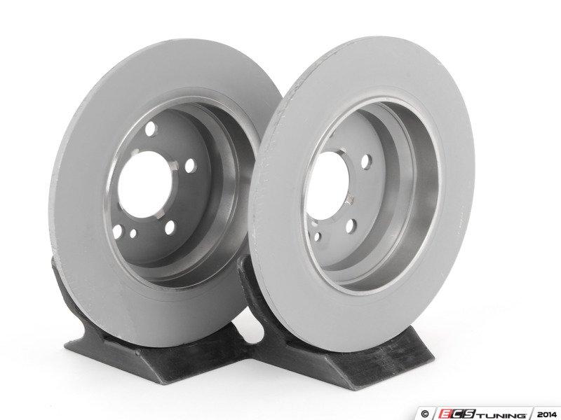 Genuine mercedes benz 000423101207kt rear brake rotors for Mercedes benz rotors