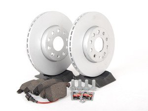 ES#2593876 - 1K0615301KT - Genuine Front Brake Service Kit (288x25) - Everything you need to service your brakes in an afternoon - Genuine Volkswagen Audi - Volkswagen