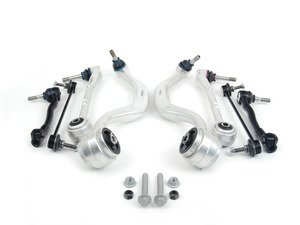 ES#2770763 - 31121092609KT5 - Front Suspension Refresh Kit - Level 2 - Control arms, bushings, hardware, tie rods, and stabilizer end links for a more complete front suspension rebuild - Assembled By ECS - BMW