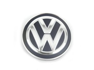 ES#2719315 - 5G0601171XQI - MK7 Center Cap - priced each - Perforated-look VW center cap from the MK7. 66mm - Genuine Volkswagen Audi - Volkswagen