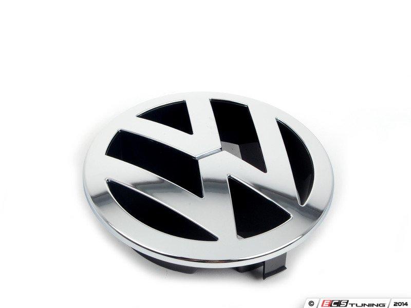 genuine volkswagen audi 7l6853601aulm vw emblem 7l6 853 601 a ulm. Black Bedroom Furniture Sets. Home Design Ideas