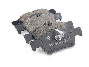 ES#2757297 - 007420102041 - Rear Brake Pad Set - Does not include brake pad wear sensors - Genuine Mercedes Benz - Mercedes Benz