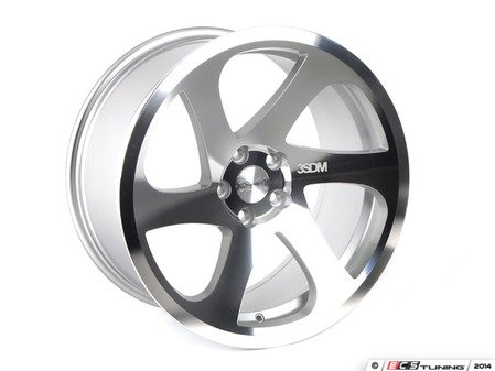 "ES#3022262 - 3s6981crlKT - 19"" 0.06 - Set Of Four - 19""x8.5"" ET42 5x112 - Silver/Cut - 3SDM - Volkswagen"