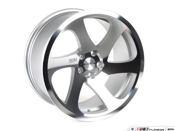 """ES#2836911 - 3S6991CKT1 - 19"""" Style 0.06 Wheels - Square Set Of Four - 19""""x10"""" ET35 CB66.6 5x112 Silver Polished - 3SDM - Audi"""