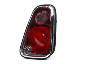 ES#2785599 - 63217166958 - Tail Light Euro - Passenger (Right)  - Replace a broken or faded tail light housing : Clear top turn - Genuine European Mini - MINI