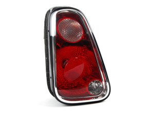 ES#2785598 - 63217166957 - Tail Light Euro - Driver (Left) - Replace a broken or faded tail light housing : Clear top turn - Genuine European Mini - MINI