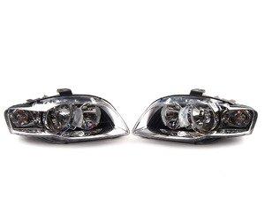 ES#2770924 - 8E0941004BKKT - Euro Halogen Headlight Set  - Upgrade to the European style housings without the amber indicator - Automotive Lighting - Audi