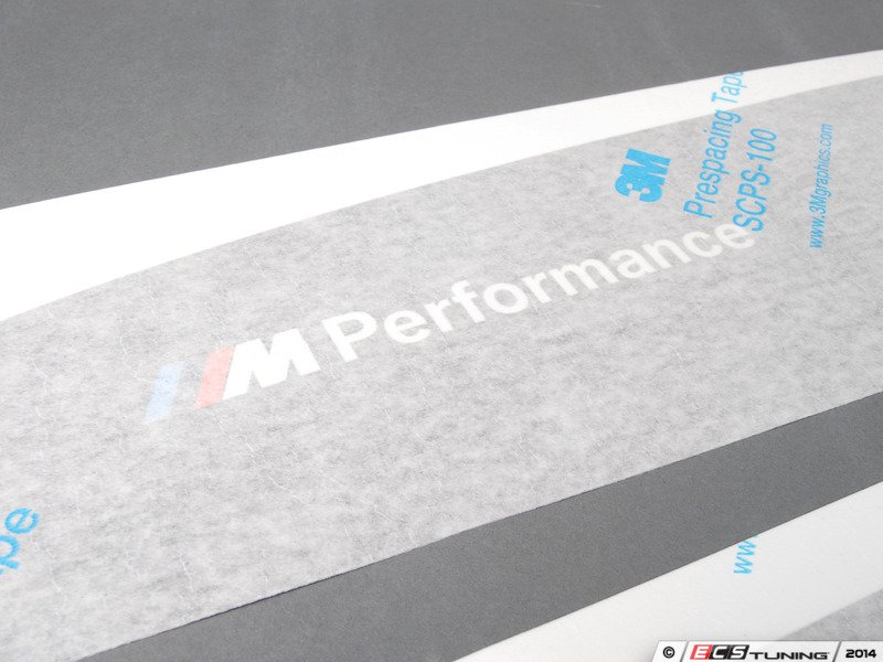 Genuine BMW M Performance Rocker Panel Decal - Bmw rocker panel decals