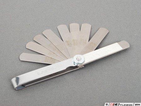 ES#2804279 - 8568A11 - Feeler Gauge Set - Feel thickness gauge, .002-.025 inch thickness - Schwaben - Audi BMW Volkswagen Mercedes Benz MINI Porsche