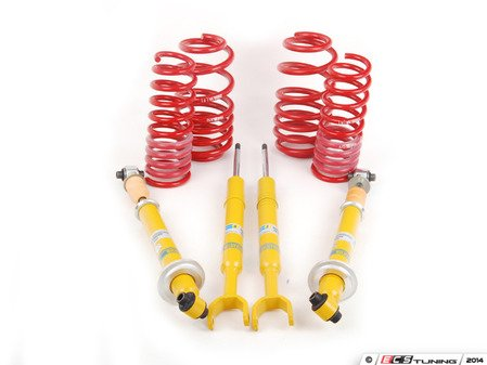 ES#660 - 299961BSC -  Cup Kit - H&R Race Springs With Bilstein Sport Shocks - Aggressive looks with ultimate handling - Assembled By ECS - Audi