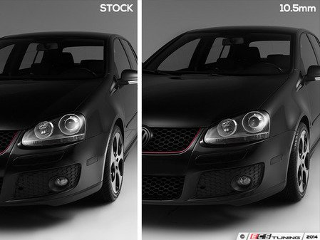 "ES#2795638 - 009478ECS01KT - GTI Flush Kit - Black Bolts - Bring your stock wheels to the ""flush"" position - Assembled By ECS - Volkswagen"