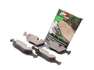 ES#1596837 - D502D - Rear Deluxe Brake Pad Set - Ceramic Composition For Extended Rotor Life - PBR - BMW