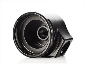 ES#2804556 - IEFUU17BK - Fuel Pressure Regulator Housing - Black - Adapt your OE fuel pressure regulator to an aftermarket fuel rail - Integrated Engineering - Audi Volkswagen