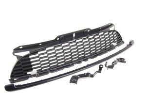 ES#2145272 - 63132211049 - Front JCW Grille W/ Brackets - For the install or vehicles with rally lights - Genuine MINI - MINI