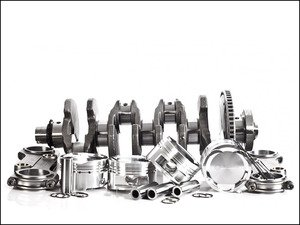 ES#2794672 - IESKVA5 - 2008CC Engine Stroker Kit - JE Pistons (9.5:1CR) - 144x20 H-Beam Rods without bearings - Integrated Engineering - Audi Volkswagen