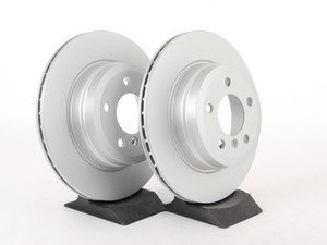 ES#2771593 - 34216793247KT - Rear Brake Rotors - Pair (320x20) - Quality replacement rotors to restore your stopping power - Meyle - BMW