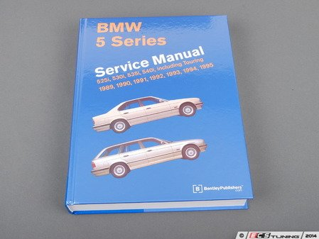 ES#252345 - B595 - BMW E34 5 Series (1989-1995) Service Manual - A comprehensive must-have for any do-it-yourselfer! Includes 672 pages of maintenance, service, and repair information! - Bentley - BMW