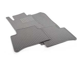 ES#1827977 - Q6680670 - All-Season Floor Mats - Set Of Four - Grey - Genuine Mercedes Benz - Mercedes Benz