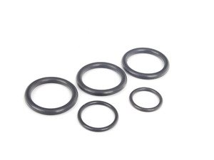 ES#2804551 - N90560701KT - Cylinder Head Coolant Pipe O-Ring Kit - Includes all O-rings for the cylinder head coolant pipe - Assembled By ECS - Audi