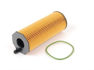 ES#2515570 - 057115561M - Oil Filter Kit - Priced Each - Quality replacement oil filter to ensure your oil stays contaminant free - Mahle - Audi Volkswagen
