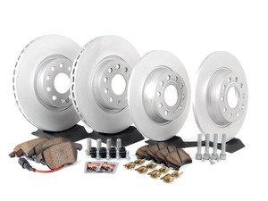 ES#2574704 - 1K0615301AAKT - Front & Rear Brake Service Kit (312x25/282x12) - Featuring genuine service parts - Genuine Volkswagen Audi - Volkswagen