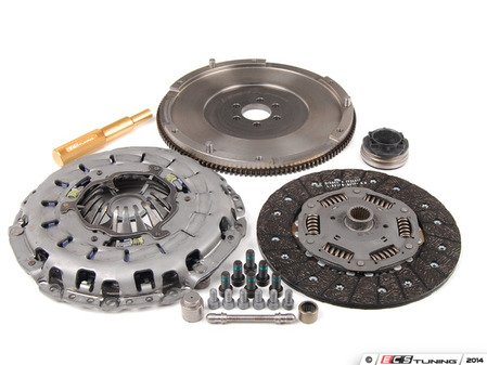 ES#5488 - ECSB6A4RA4S1KTST -  RA4 240mm Clutch Conversion Kit - Stage 1 - Lightweight flywheel with the S4 pressure plate and disc - ECS - Audi