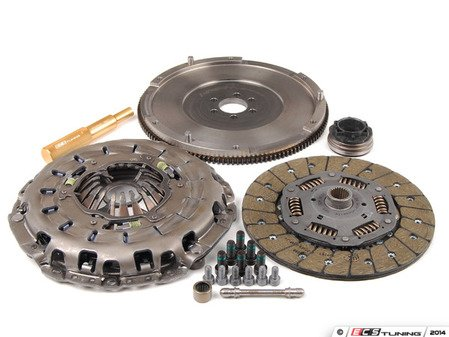 ES#5489 - ECSB6A4RS4CCKSTL -  RA4 240mm Clutch Conversion Kit - Stage 2 - Lightweight flywheel with the RS4 pressure plate and disc - ECS - Audi