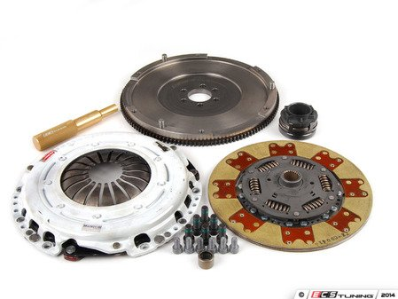 ES#5487 - RA4S3-STEEL -  RA4 240mm Clutch Conversion Kit - Stage 3 - ECS RA4 Lightweight Flywheel with the Clutch Masters Stage 3 clutch kit - ECS - Audi Volkswagen