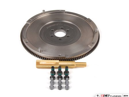 ES#12084 - ECS212321B5KT - RA4 Single Mass Flywheel Kit - Engineered to convert your 1.8T clutch to the much more durable S4 clutch - ECS - Audi Volkswagen